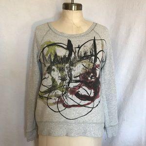 Proenza Schouler for Neiman's abstract sweatshirt